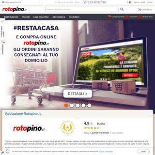ROTOPINO - Utensili professionali, ottimi prezzi
