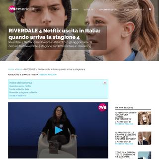 Riverdale 4 Netflix Quando Uscita Episodi in Streaming