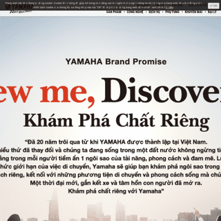 Trang Chủ - Yamaha Motor Việt Nam