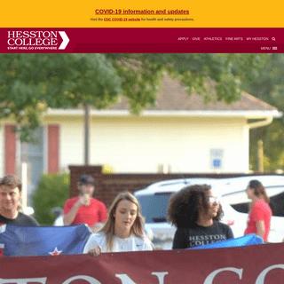 Hesston College - Start Here, Go Everywhere