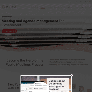 Government Agenda Management Software l govMeetings by Granicus