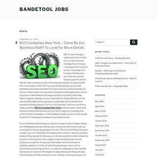 Bandetool Jobs -