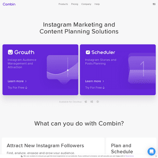 ArchiveBay.com - combin.com - Combin – Instagram Marketing Tools for Quick and Safe Growth