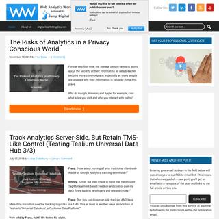 Analytics, Mobile, Social Media and Digital Marketing Strategy