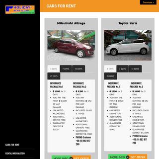 Pattaya Car Rentals - Pattaya Car Rental Services