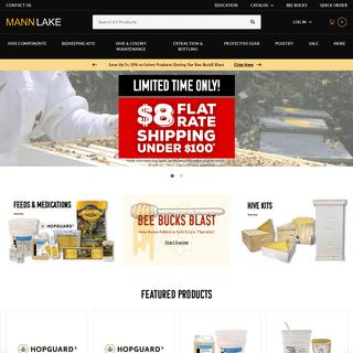 Beekeeping Equipment & Protective Gear - Mann Lake LTD