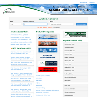 Aviation Jobs and Aviation Employees JSfirm