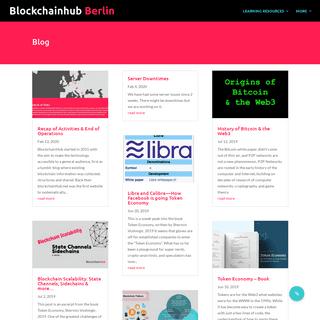 BlockchainHub - Blockchain, Smart Contracts, ICOs, Tokens & Web3