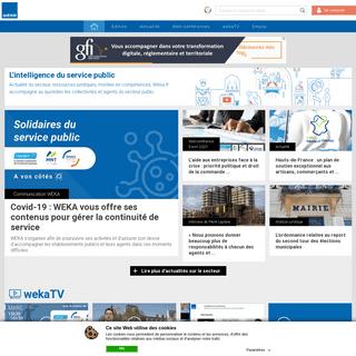 ArchiveBay.com - weka.fr - WEKA - L'intelligence du service public