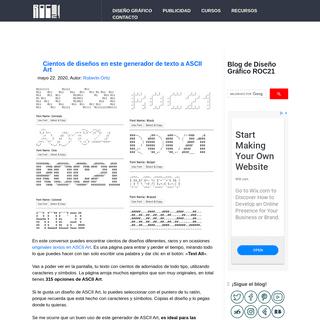 Blog de diseño gráfico roc21