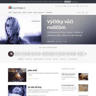 Homepage - Psychologie.cz