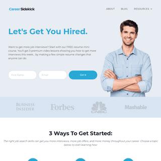 Job Search Advice – Career Sidekick