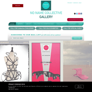 No Name Collective Gallery London - Project for artists