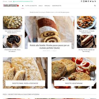 Ricette di cucina Tavolartegusto- Tante Ricette di cucina foto passo passo