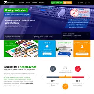 Anacondaweb - DataCenter en Chile