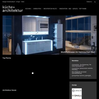 Küche + Architektur - Alles zum Thema Küche