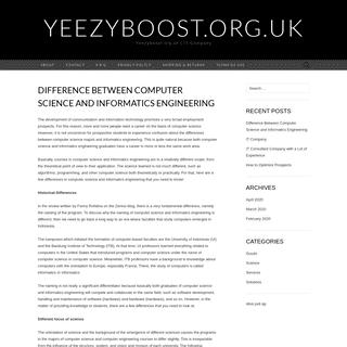 yeezyboost.org.uk – Yeezyboost.org.uk - IT Company