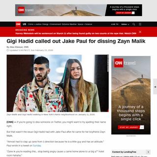 ArchiveBay.com - www.cnn.com/2020/02/23/us/gigi-hadid-zayn-malik-jake-paul-trnd/index.html - Gigi Hadid called out Jake Paul for dissing Zayn Malik - CNN
