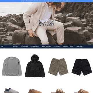 WITTMORE - Smart clothing and accessories for the modern Man