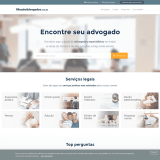 Advogados - MundoAdvogados.com.br