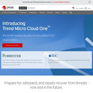 Trend Micro (AU) - Enterprise Cybersecurity Solutions