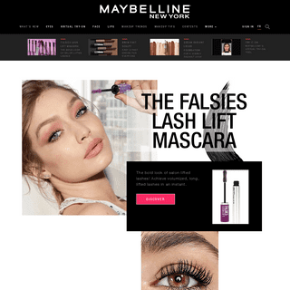 Makeup & Cosmetic Products, Tips & Trends - Maybelline New York