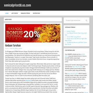 xenicalprice18.us.com - Situs IDN Poker Online Indonesia Terpercaya