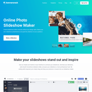 Free Photo Slideshow Maker Online - Create Photo Carousels Online