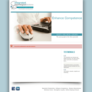 Comprehensive Employee Wellness Solutions for SMME's - Integrated Psychological Solutions