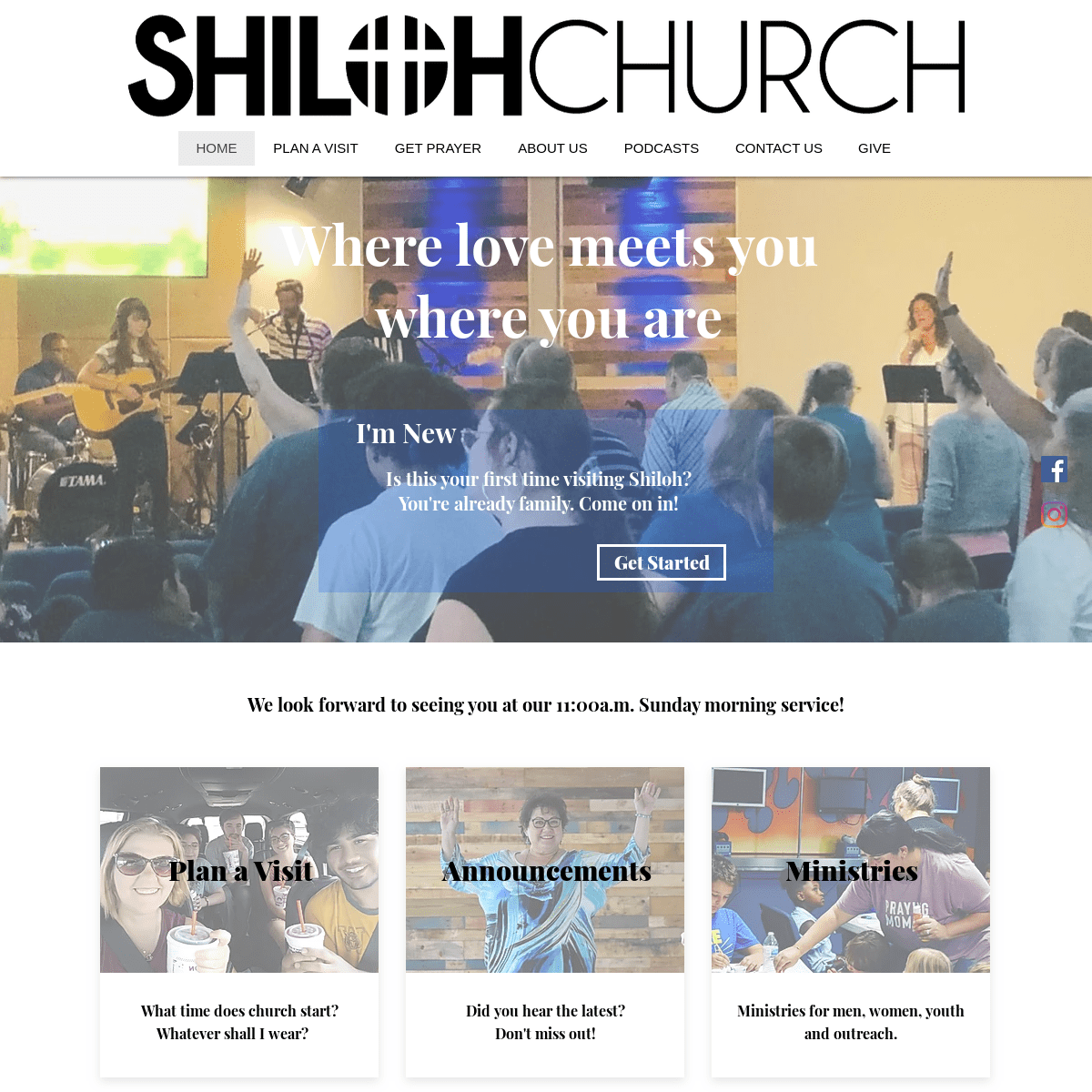 Shiloh Family Church - Love Meets You Here - Flower Mound TX
