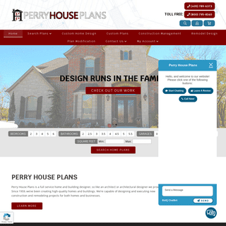 Architect - Architectural Designer - Perry House Plans