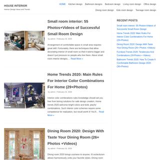 HOUSE INTERIOR ⋆ Interior Design Ideas and Trends