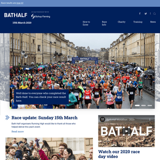 Home - Bath Half Marathon