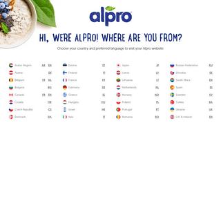 Alpro - Alpro