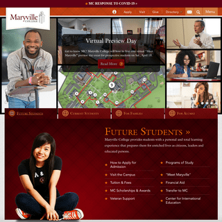 - Welcome to Maryville College - Bridging College to Career -