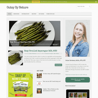 Gutsy By Nature - Jaime Hartman, Nutritional Therapy Practitioner