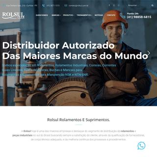 Rolsul – Distribuidor Autorizado NTN-SNR, HIWIN- NSK Linear Motion