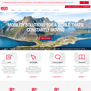 Home - ECA International