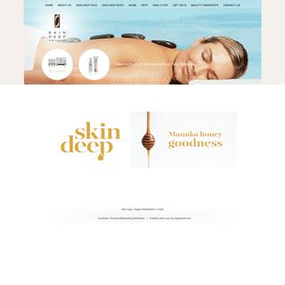 Skin Deep New Zealand - Manuka Honey Skin Products - Kanuka Essential Oils for Face & Body