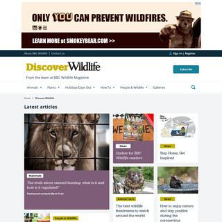 ArchiveBay.com - discoverwildlife.com - BBC Wildlife Magazine- nature, conservation and wildlife watching - Discover Wildlife