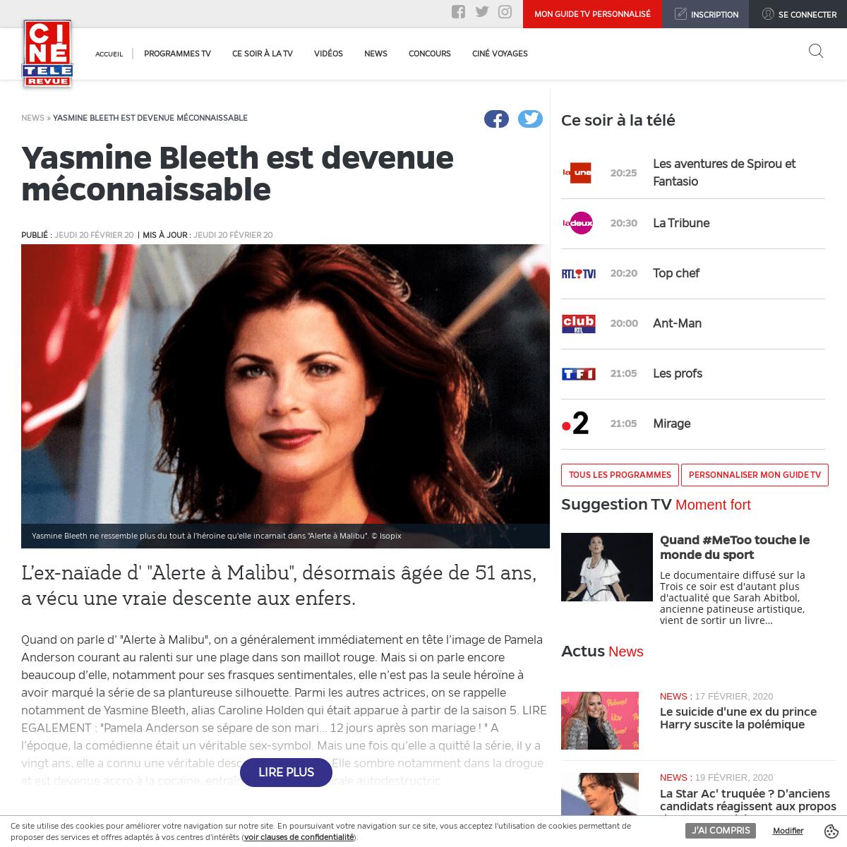 Yasmine Bleeth est devenue méconnaissable