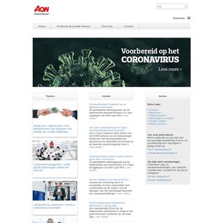 ArchiveBay.com - aon.nl - Aon Nederland - Risico-, pensioen- en gezondheidsoplossingen
