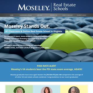Moseley Real Estate Schools – Moseley Real Estate Schools