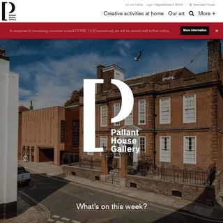 ArchiveBay.com - pallant.org.uk - Pallant House Gallery - Home