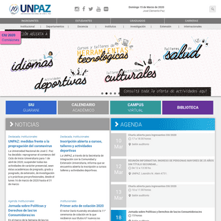 A complete backup of unpaz.edu.ar