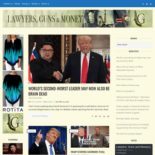 ArchiveBay.com - lawyersgunsmoneyblog.com - Lawyers, Guns & Money