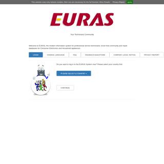 EURAS Repair Tips databases - the technicians community