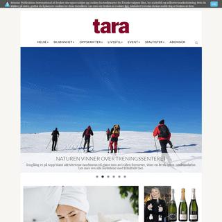 Tara - Det beste innen mote, livsstil og helse - for voksne kvinner - Tara.no