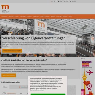 ArchiveBay.com - messe-duesseldorf.de - Startseite -- Messe Düsseldorf GmbH