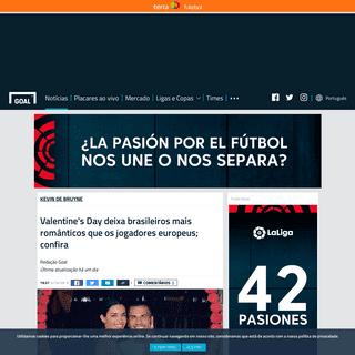 Valentine's Day deixa brasileiros mais românticos que os jogadores europeus; confira - Goal.com